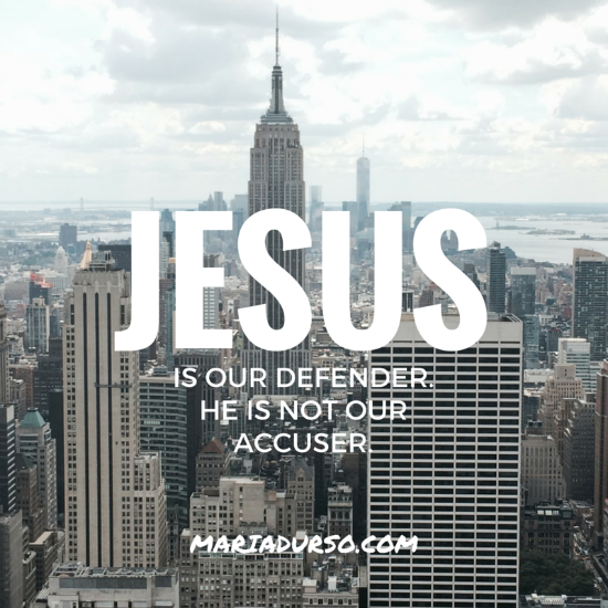 Jesus Is Our Defender