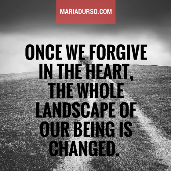 Forgive in the Heart