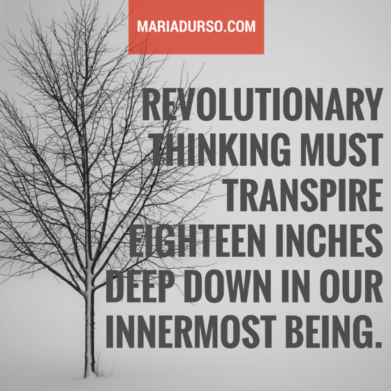 What is Revolutionary Thinking?