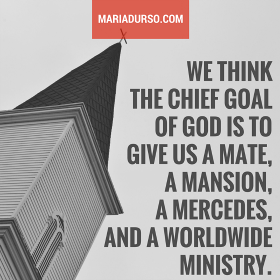 The Chief Goal of God